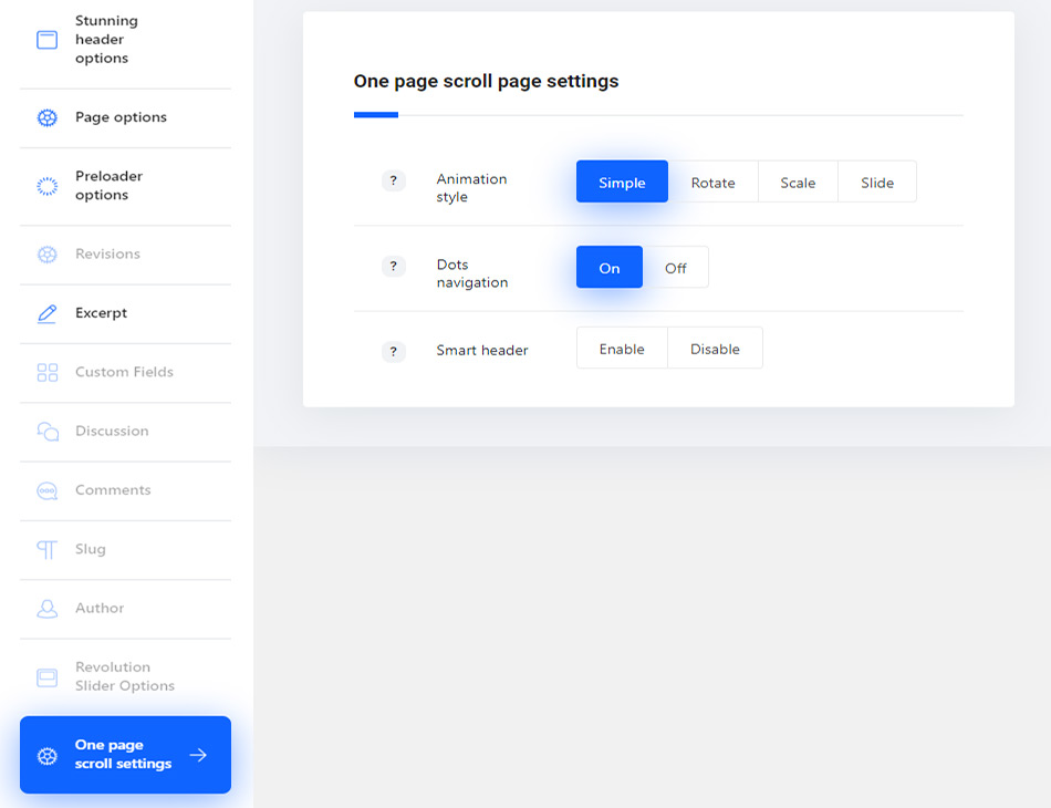 Single Page Creation – Ronneby support