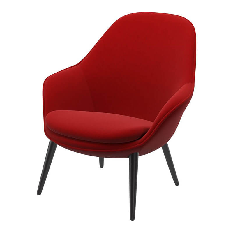 Furniture shop layout | Modern red armchair